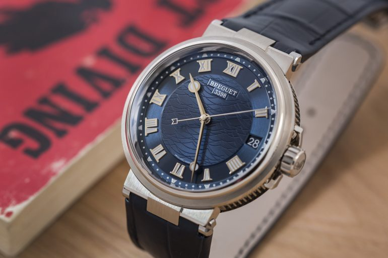 A Week On The Wrist: The Breguet Marine Reference 5517