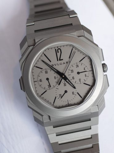 A Week On The Wrist: The Bulgari Octo Finissimo Chronograph GMT Automatic