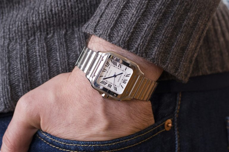 A Week On The Wrist: The Cartier Santos
