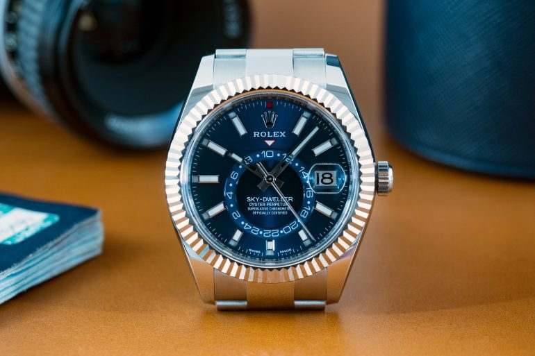 A Week On The Wrist: The Rolex Sky-Dweller In Stainless Steel