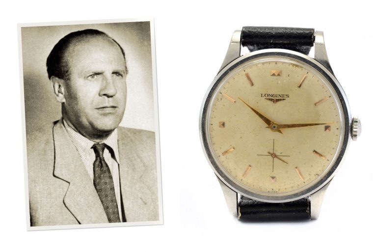 Auctions: Oskar Schindler's Longines Watch Is For Sale At RR Auction