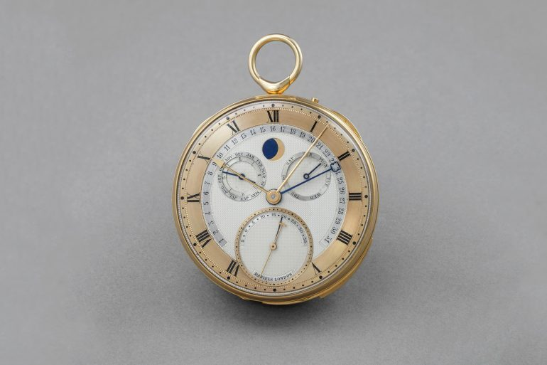 Auctions: Phillips To Auction The George Daniels Grand Complication Pocket Watch