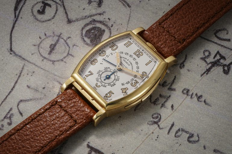 Auctions: Phillips To Offer A Unique 1930s Vacheron Constantin Minute Repeater With Retrograde Calendar