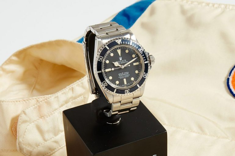 Auctions: The McQueen Estate Disputes The Provenance Of Supposed Steve McQueen Submariner Being Sold By Phillips