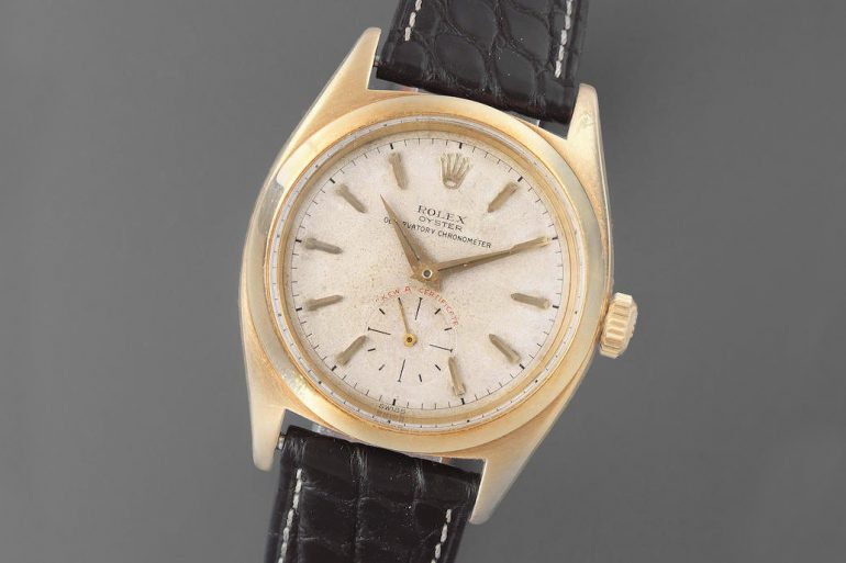 Auctions: Two Rolex Kew A Chronometers Are For Sale This Week At Bonhams