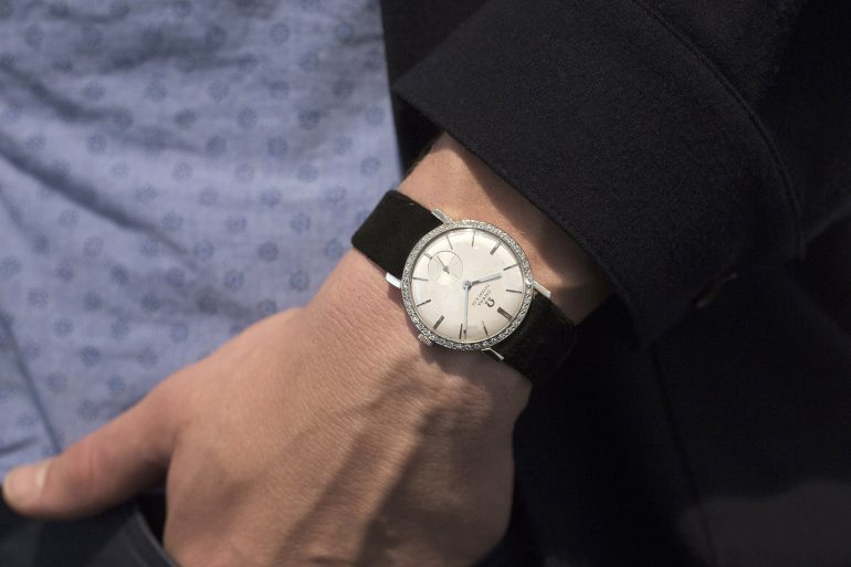 Breaking News: Elvis Presley's Tiffany-Dial Omega Sells For $1.8 Million, Becoming Most Expensive Omega