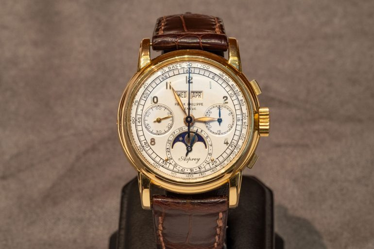 Breaking News: The Only Known Asprey-Signed Patek Philippe Ref. 2499 Sells For $3.88 Million At Sotheby's, Setting A New World Record