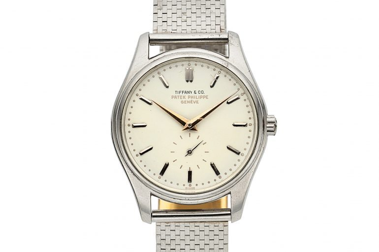 Breaking News: Tiffany-Signed Patek Philippe Ref. 2526 In Platinum Sells For $642,500