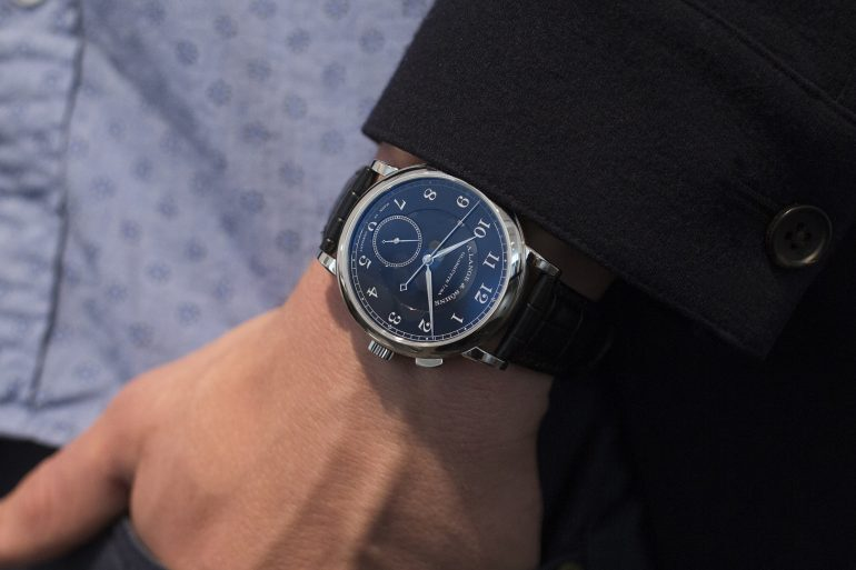 Breaking News: Unique A. Lange & Söhne 1815 'Homage To Walter Lange' In Stainless Steel Sells For $852,525 In Geneva