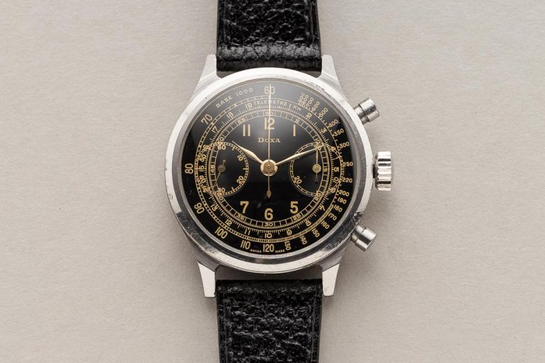 Bring a Loupe: A Spillmann-Cased Doxa Chronograph, A Rolex Datejust Ref. 1601, And An Omega Seamaster With RAF Provenance
