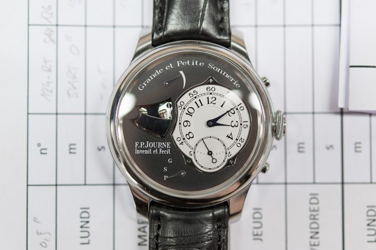 Business News: F.P. Journe Will Discontinue The Sonnerie Souveraine After 2018