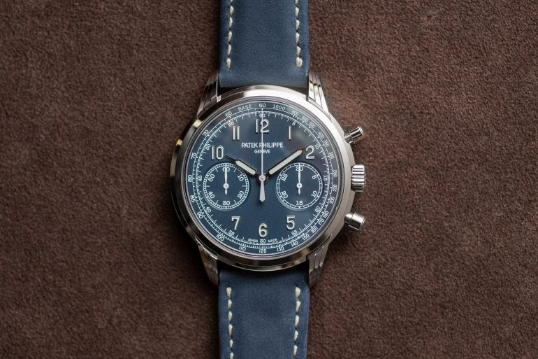 First Photos: The Patek Philippe 5172G Hand-Wound Chronograph