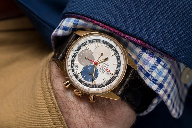 First Photos: The Zenith El Primero A386 Revival In White, Rose, and Yellow Gold