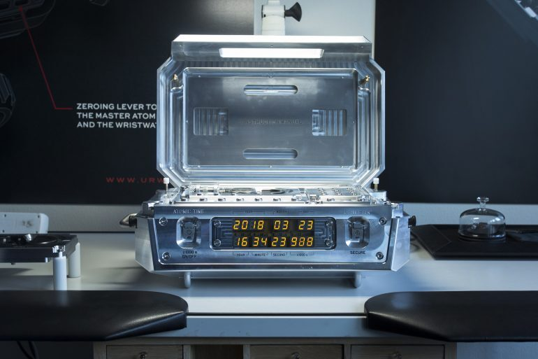 First Take: The Urwerk AMC, An Atomic Clock-Controlled Take On The Breguet Sympathique (VIDEO)