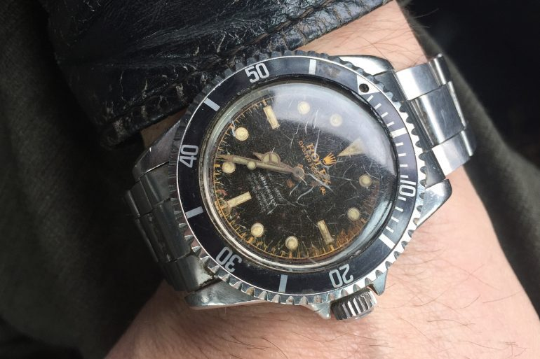 Found: A $10 Gilt Dial Rolex Submariner Reference 5512