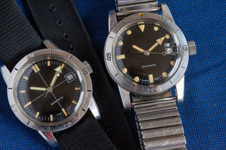 Found: A Pair Of Sterile-Dial Glycine Airman Watches Sold At Naval Supplier Kroesen's