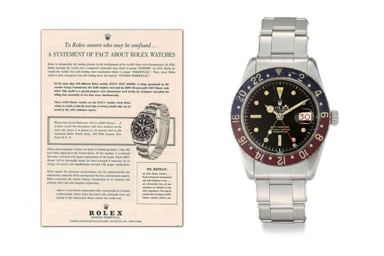 Found: A Strange Rolex Document About The Famous GMT-Master Radioactivity Recall