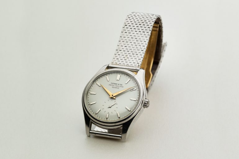 Found: A Tiffany-Signed Patek Philippe 2526 In Platinum With Enamel Dial And Platinum Bracelet
