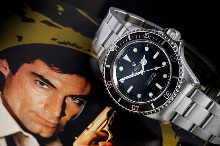 Found: James Bond's Rolex Submariner From 'A Licence To Kill' Is Up For Auction