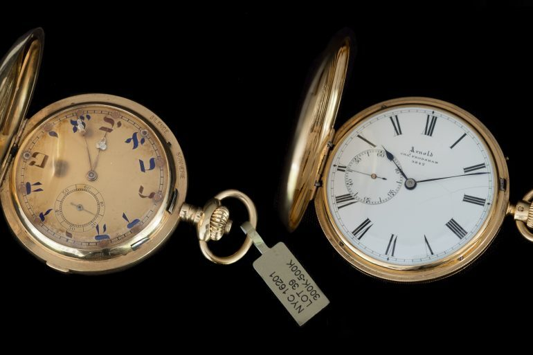 Found: Two Cool Pocket Watches At Christie's That Did Not Belong To Steve McQueen Or Paul Newman