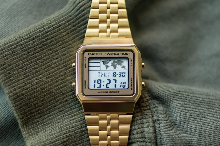 Hands-On: The 'Gold' Casio A500WGA-9DF World Timer