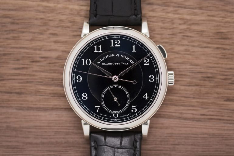 Hands-On: The A. Lange & Söhne 'Homage To Walter Lange' Unique Piece In Steel At Phillips Geneva
