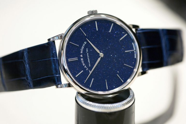 Hands-On: The A. Lange & Söhne Saxonia Thin Blue Copper