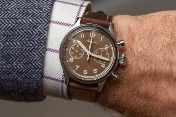 Hands-On: The Breguet Type 20 For Only Watch, With A Vintage Valjoux Movement - HODINKEE