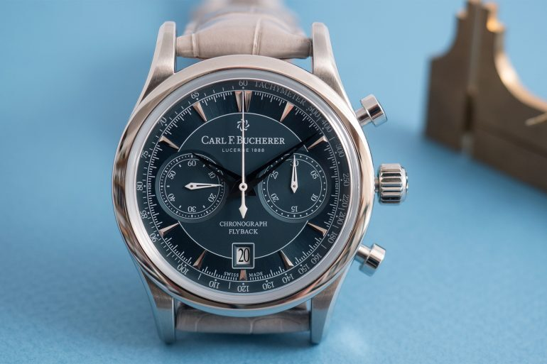 Hands-On: The Carl F. Bucherer Manero Flyback Chronograph