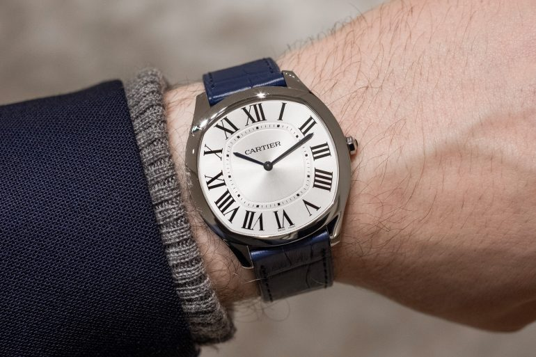 Hands-On: The Cartier Drive de Cartier Extra-Flat In Stainless Steel And Yellow Gold