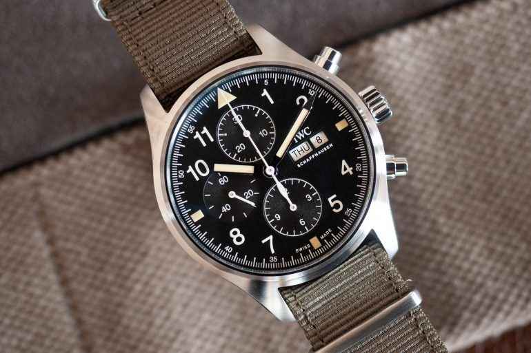 Hands-On: The IWC Pilot's Watch Chronograph Ref. IW377724