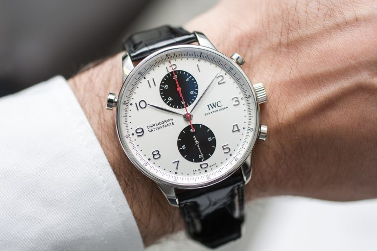 Hands-On: The IWC Portugieser Chronograph Rattrapante Edition Boutique Canada