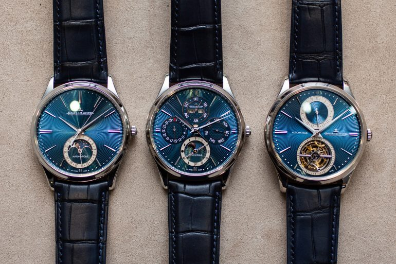 Hands-On: The Jaeger-LeCoultre Master Ultra-Thin Perpetual Enamel, Master Ultra Thin Moonphase Enamel, and Master Ultra Thin Tourbillon Enamel Limited Editions
