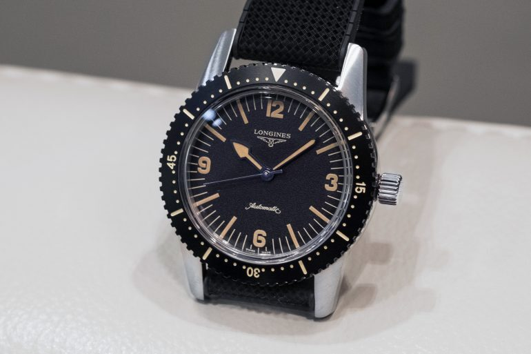 Hands-On: The Longines Heritage Skin Diver