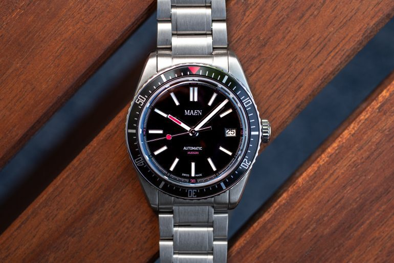 Hands-On: The Maen Hudson 38 Automatic
