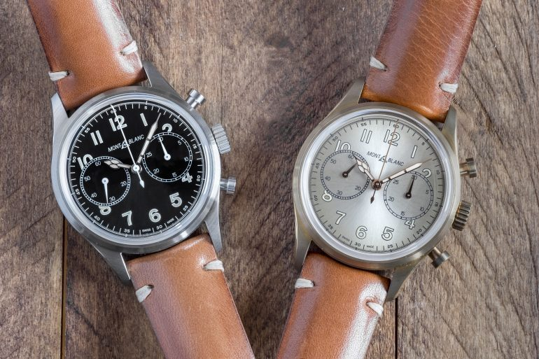 Hands-On: The Montblanc 1858 Automatic Chronograph