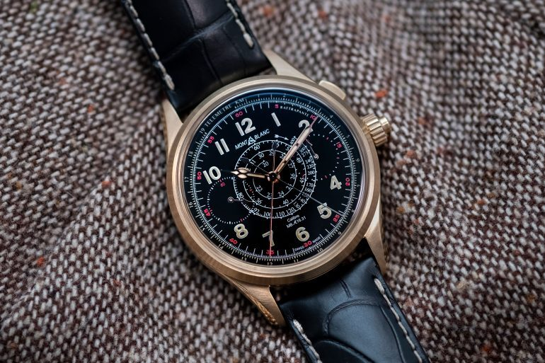 Hands-On: The Montblanc 1858 Split Second Chronograph Limited Edition