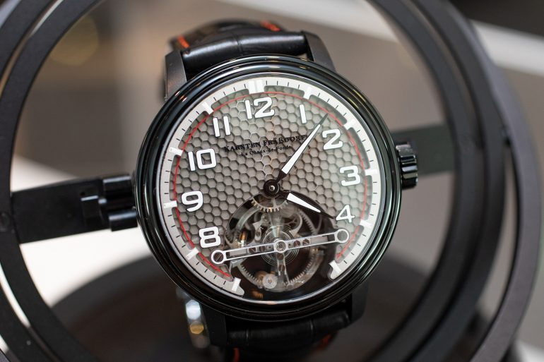 Hands-On: The Montres KF Spirograph Sport