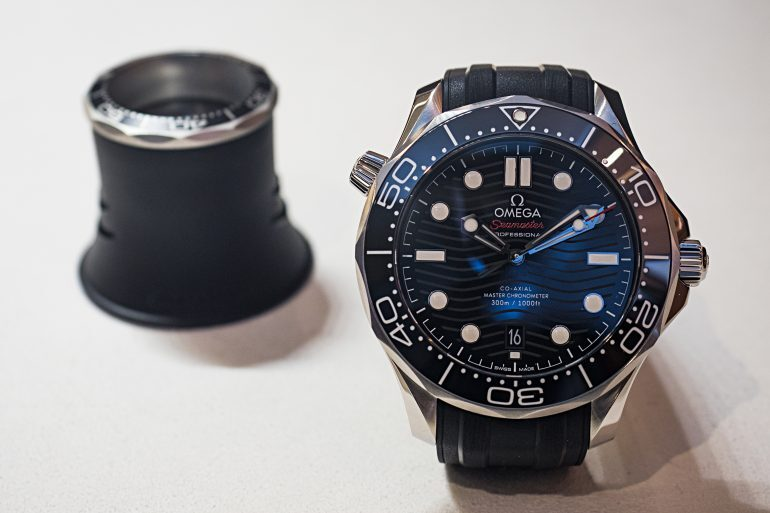 Hands-On: The Omega Seamaster Professional Diver 300M Co-Axial Master Chronometer