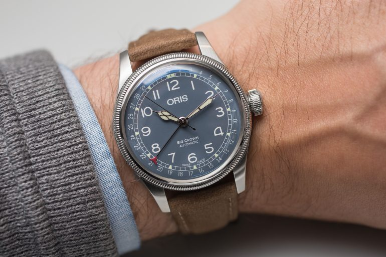 Hands-On: The Oris Big Crown Pointer Date Collection