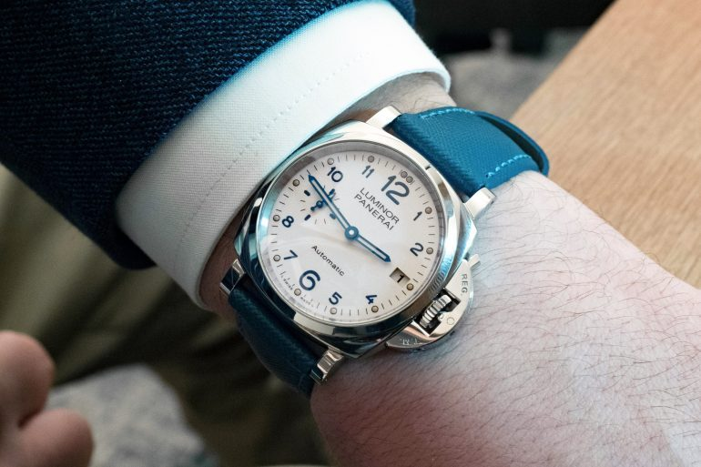 Hands-On: The Panerai Luminor Due 3 Days Automatic Acciaio 38mm