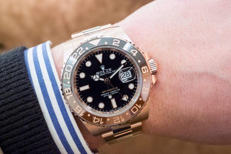 Hands-On: The Rolex GMT-Master II In Everose Gold