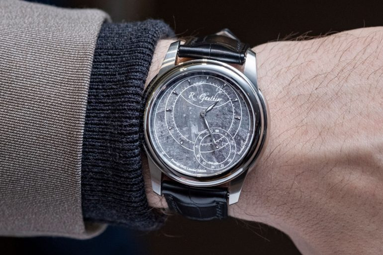 Hands-On: The Romain Gauthier Prestige HMS Stainless Steel (With Meteorite Dial)