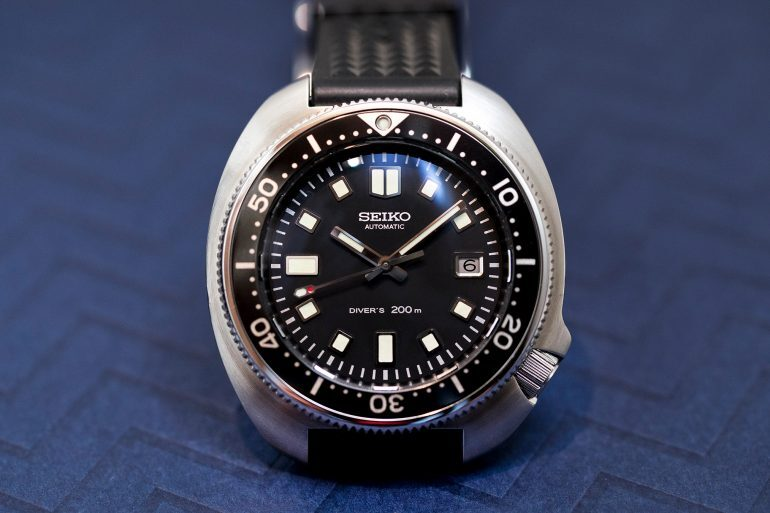 Hands-On: The Seiko Prospex 1970 Diver's Re-Creation Limited Edition SLA033