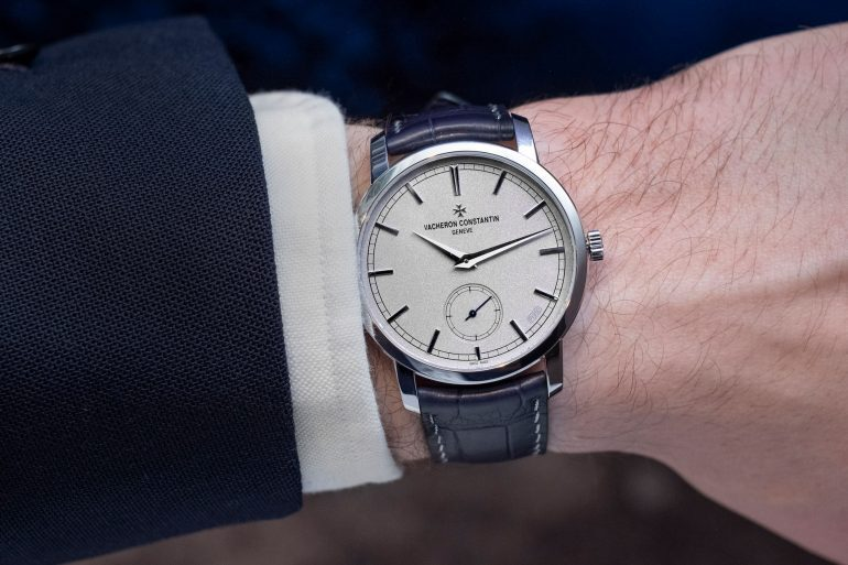 Hands-On: The Vacheron Constantin Traditionnelle Manual-Winding Collection Excellence Platine