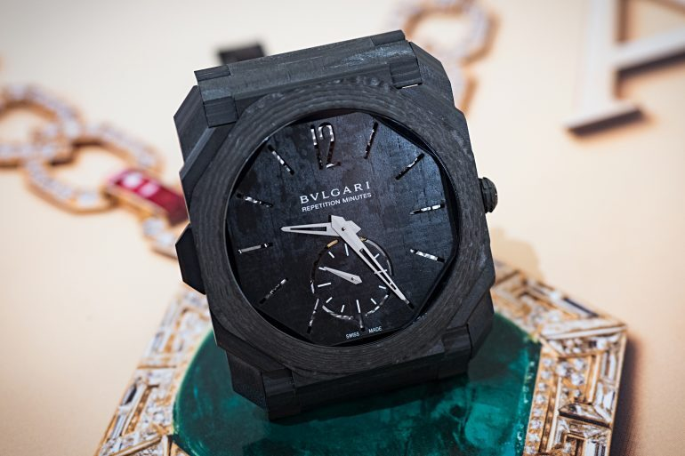 Happenings: See The Bulgari Octo Finissimo Tourbillon Automatic And Minute Repeater Carbon For The First Time In The US, At Bulgari NY