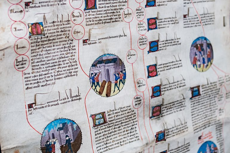 Happenings: The Art Of Medieval Time At The Morgan Library