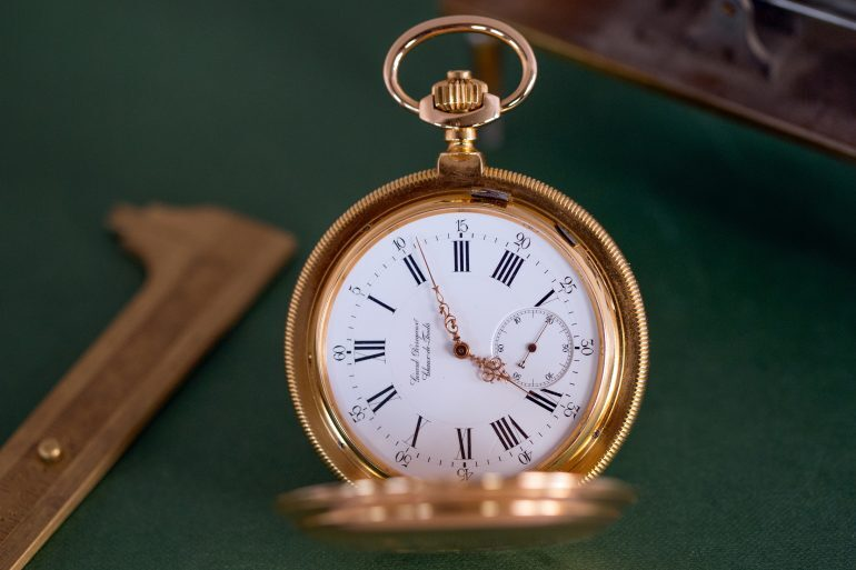 Historical Perspectives: A Girard-Perregaux Observatory Chronometer Tourbillon Pocket Watch From 1889