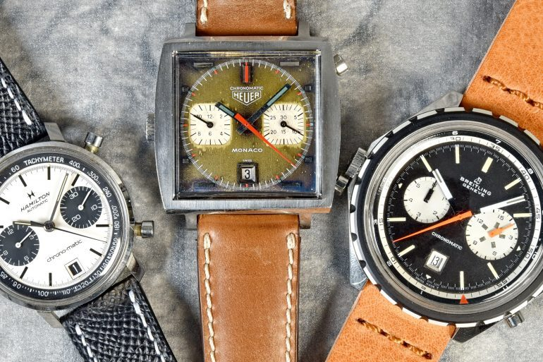 In-Depth: How Heuer, Breitling, And Hamilton Brought The Automatic Chronograph To The World 50 Years Ago