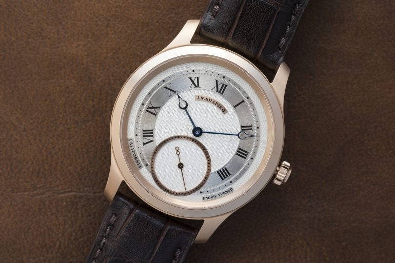 In-Depth: The Infinity Series From J.N. Shapiro Watches